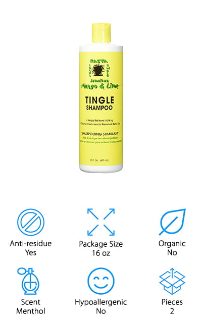 Jamaican Mango Lime Tingle Shampoo