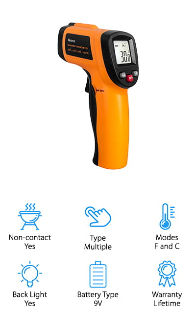 Helect Laser Infrared Thermometer
