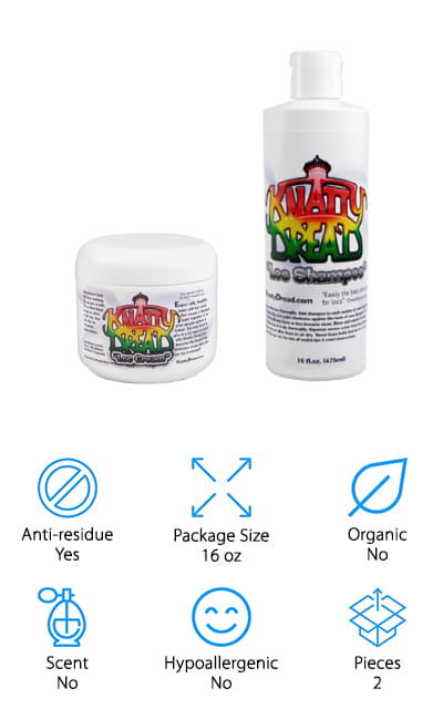 Knatty Dread Dreadlocks Combo Kit