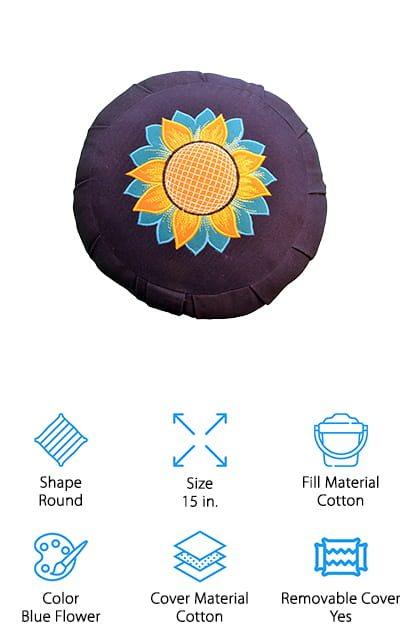 Yoga Accessories Zafu Cushion