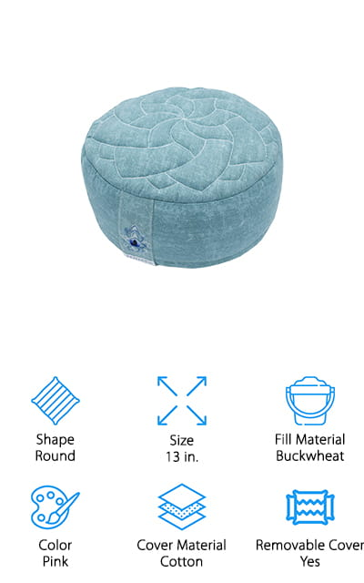 Zenjara Zafu Meditation Cushion