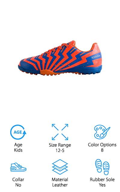 ROONASN Indoor Soccer Shoes