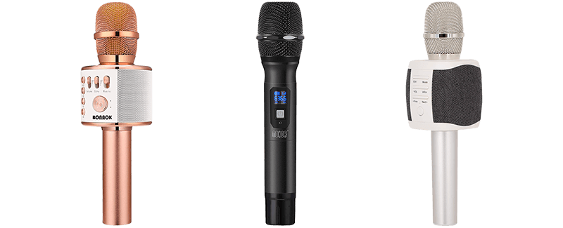 Best Karaoke Wireless Microphones