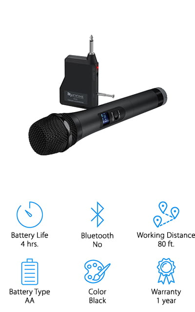 FIFINE Wireless Microphone