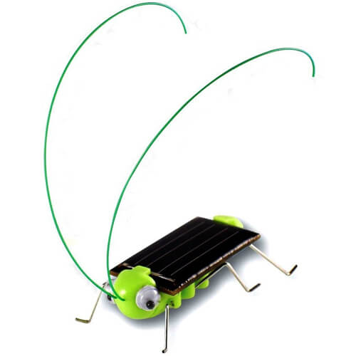 Solar Powered Grasshopper