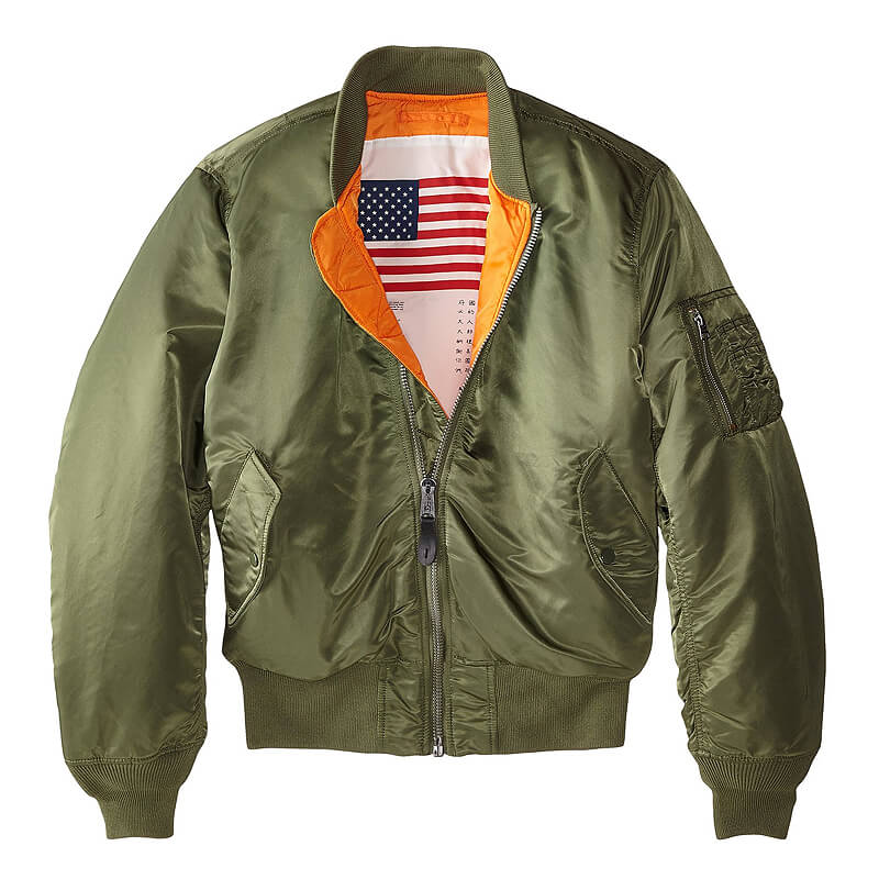 Alpha Industries Flight Jacket Sage