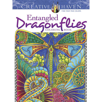 Dragonflies Coloring Book