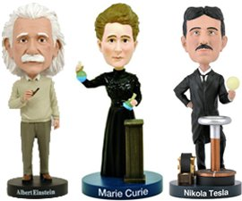 Famous Scientists Bobbleheads
