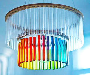 Geek and Nerd Chandelier