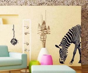 Zebra Vinyl Wall Mural