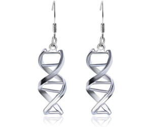 DNA Helix Earrings