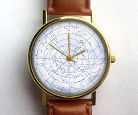 Vintage Star Chart Watch