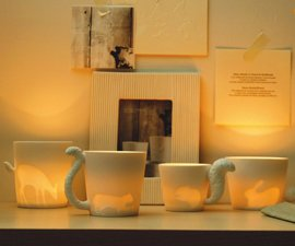 Mugtail Animal Cups