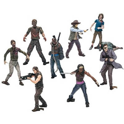 TWD Action Figure Set
