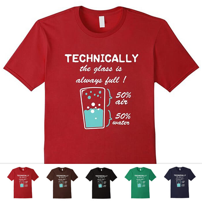 0895e1076 Funny Science and Math Shirts - Geeky and Nerdy T Shirts