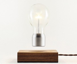 Levitating LED Light Bulb