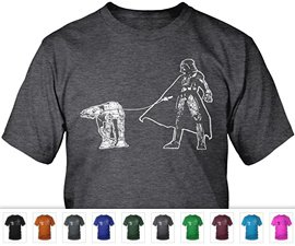 Darth Vader Walking AT-AT