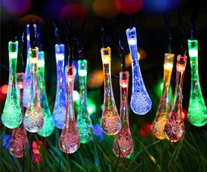 Water Drop String Lights