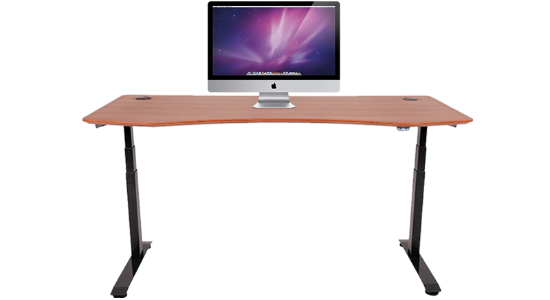 blinds uplift adjustable products shaped laminate custom l standing desk fcae height