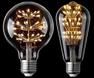 LED Edison Fireworks Bulb