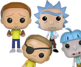 Funko POP Rick & Morty Figures