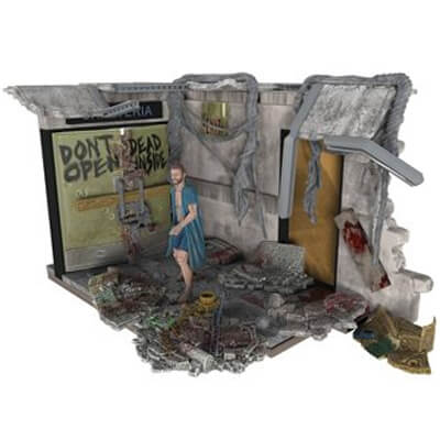 TWD Hospital Doors Set