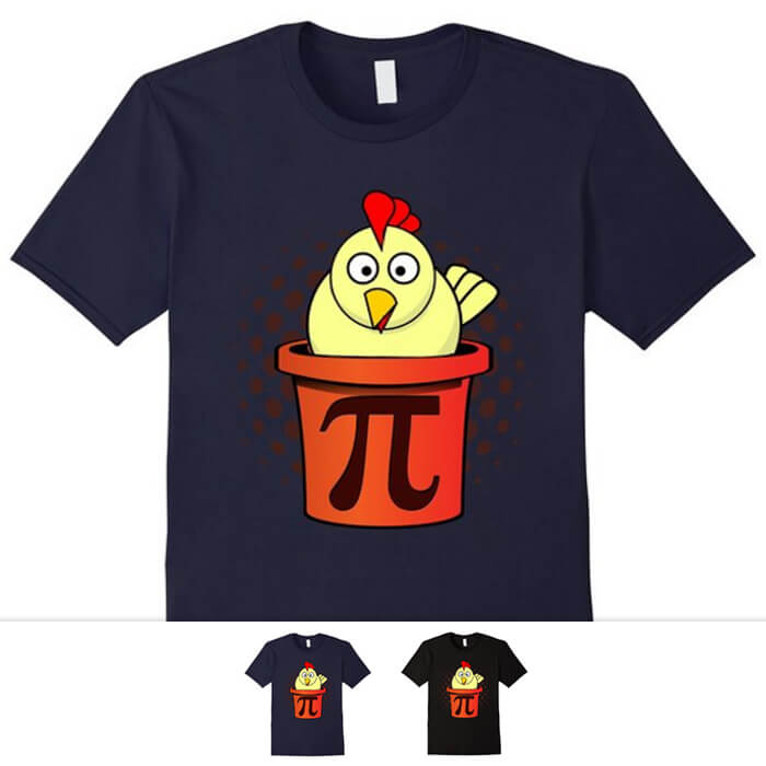 Chicken Pot Pie Math Shirt