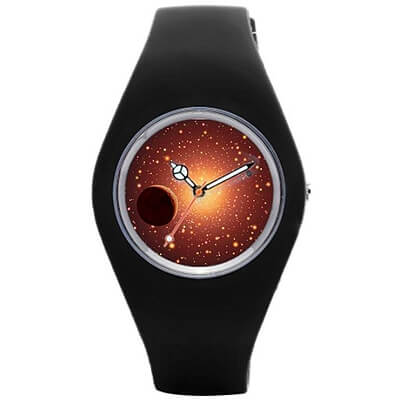 Astronomical Rubber Watch