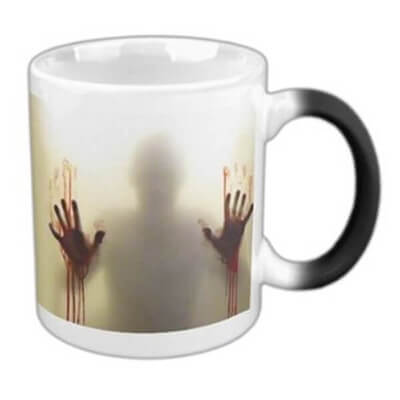 Heat Sensitive Zombie Mug