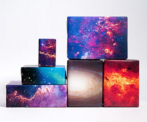 Galaxy Space Wrapping Paper