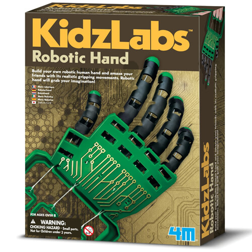 4M KidzLabs Robotic Hand Construction Kit Engineering