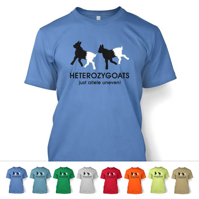 Heterozygoats Biology Shirt