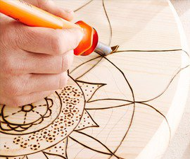 Easy Woodburning Art Tool