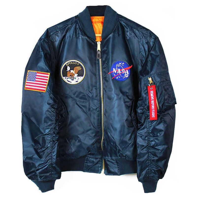 Apollo 2 NASA Bomber Jacket