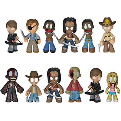 TWD Mystery Mini Figures