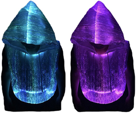 Fiber Optic Light Hoodie