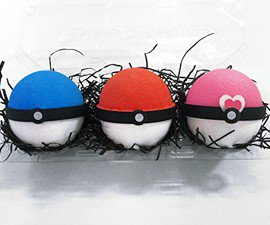 Pokeball Bath Bomb Set