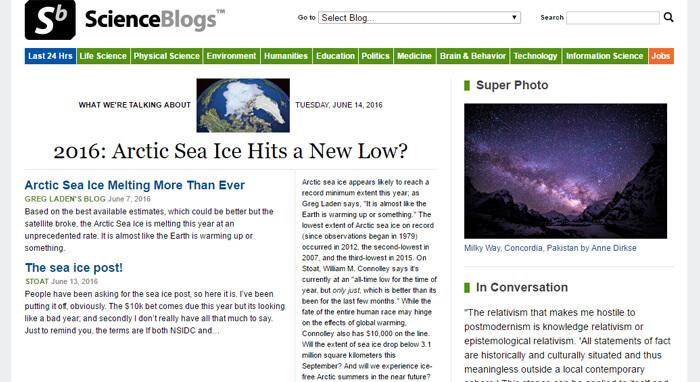 The 20 Best Science Blogs | GeekWrapped