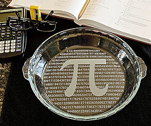Mathematics Pi Please Plate Gift