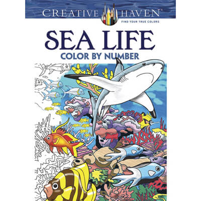 Sea Life Color by Number