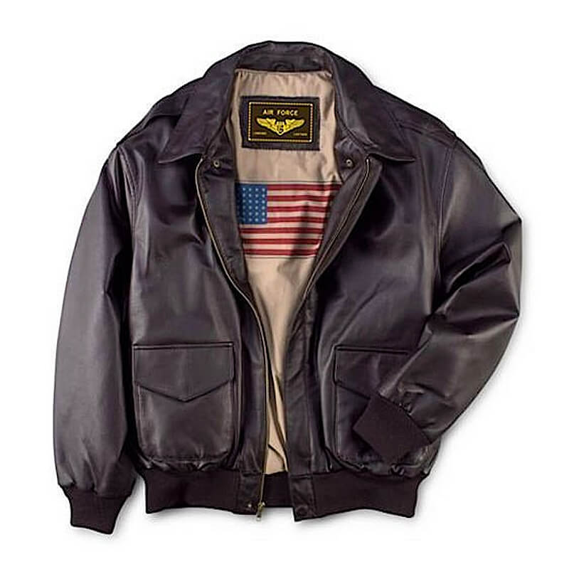 Air Force A-2 Leather Flight Bomber Jacket