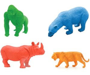 Endangered Species Erasers