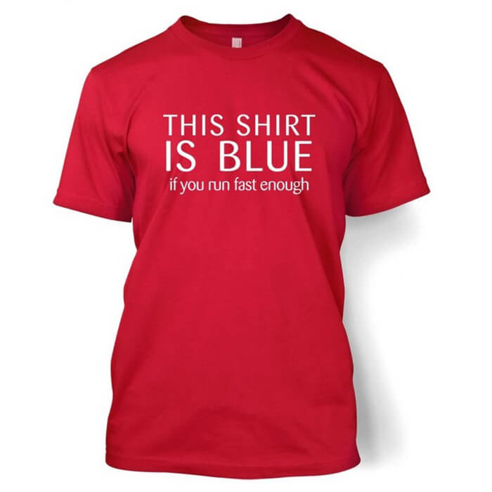 Redshift Blueshift Physics Shirt