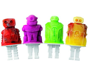 Robot Pop Molds Ice Cream Cooking Gift