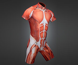 Geeky Muscle Skin Suit