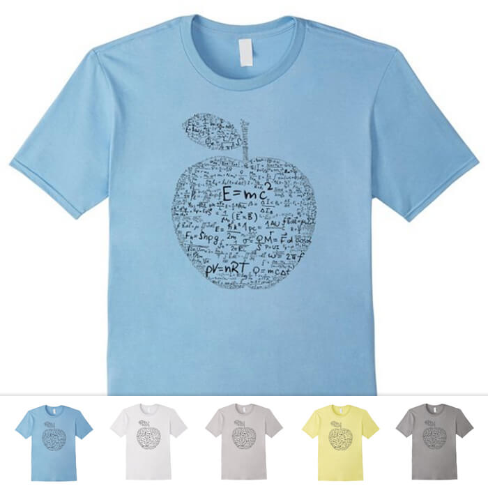 Newton Einstein Equations Shirt