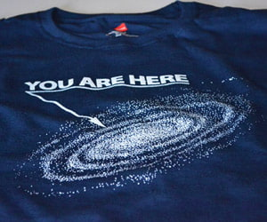 our galaxy shirt