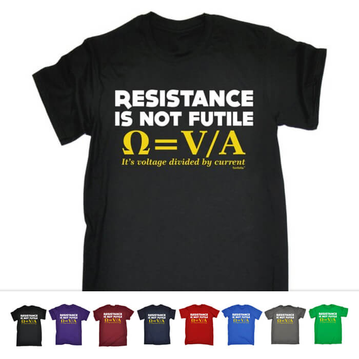 Resistance is Not Futile Shirt