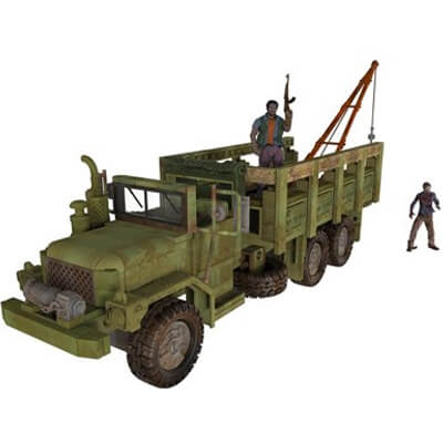 Woodbury Assault Vehicle TWD Collectible