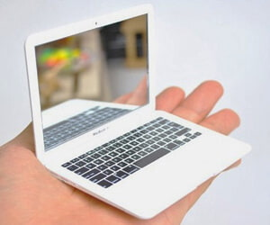 Tiny Macbook Pocket Mirror